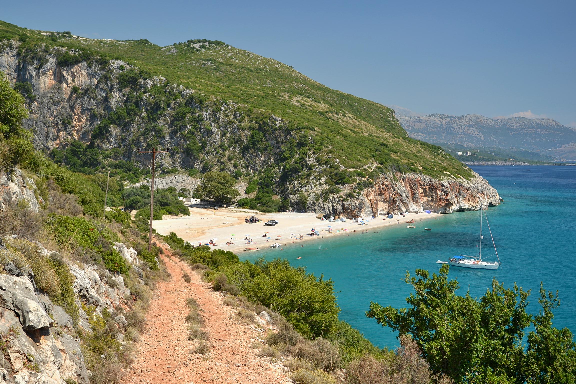 las mejores playas de Albania, las mejores playas, playas