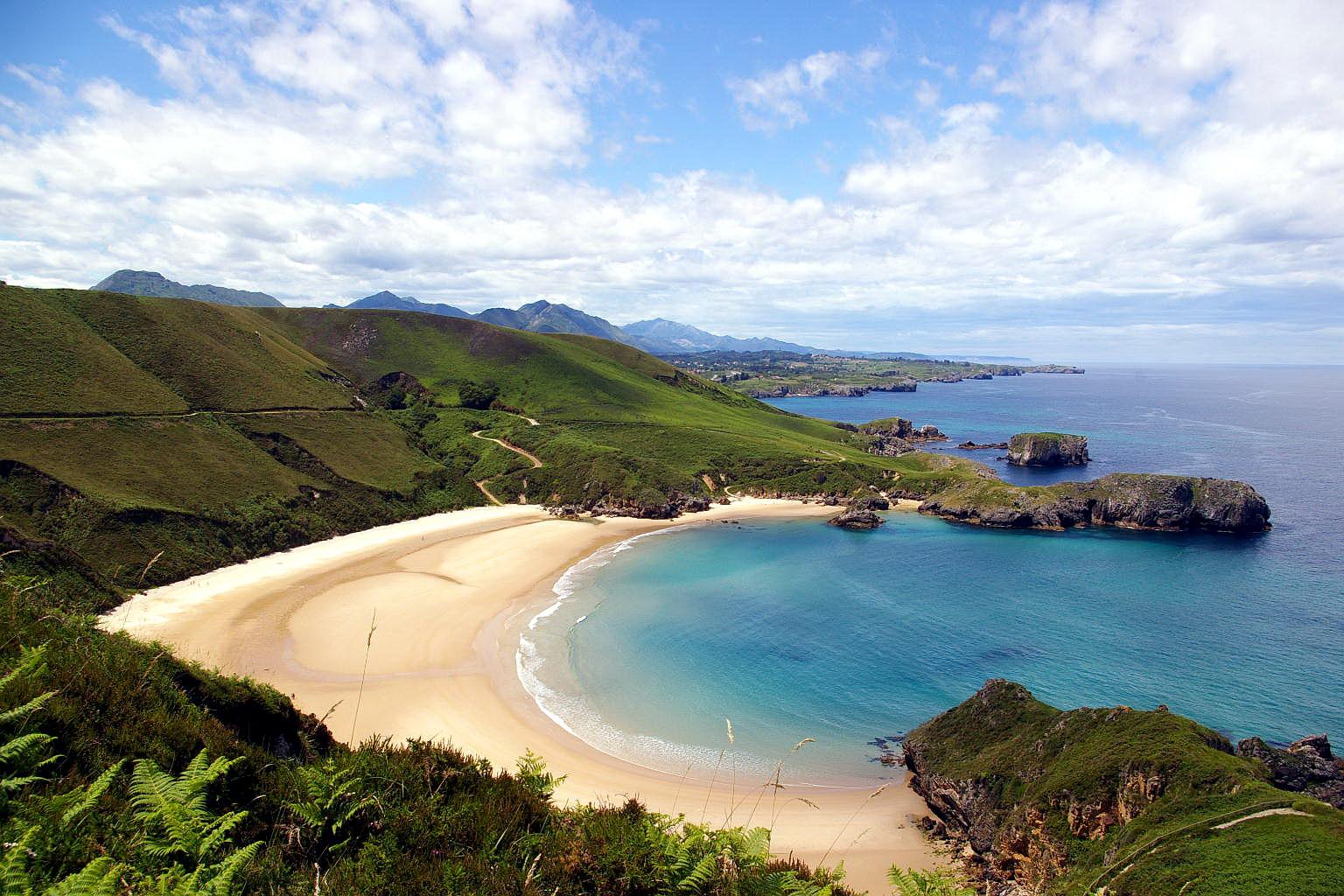 las mejores playas de asturias, asturias, playas, españa, las mejores playas